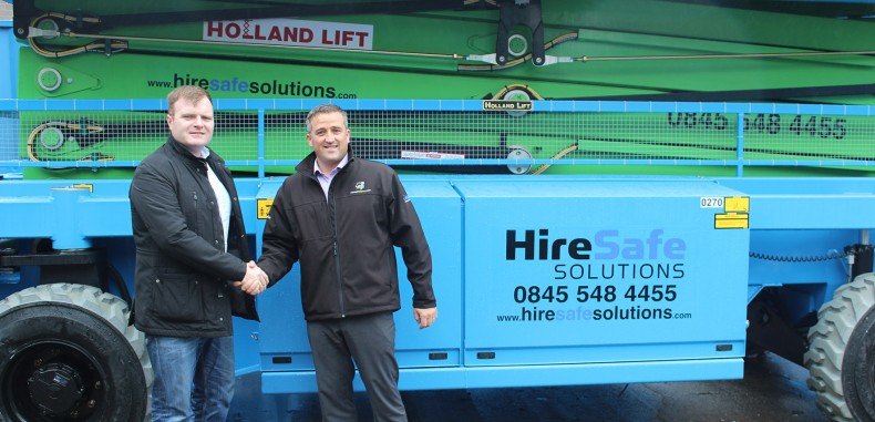 AJ Access Platforms Hands Over Machine To Hire Safe Solutions