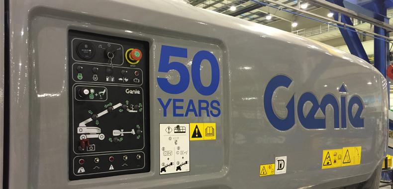 Genie Celebrate 50th Anniversary