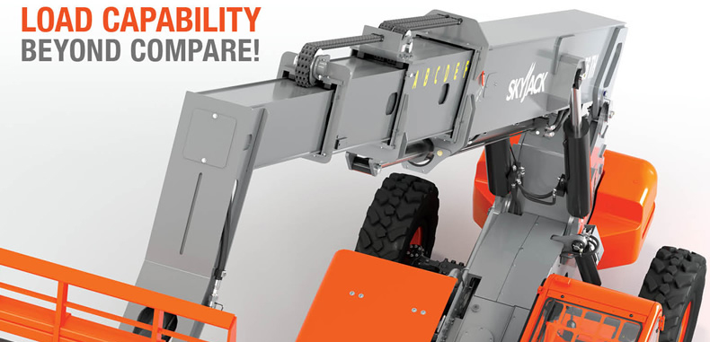 Skyjack's Latest Telehandler Makes Debut