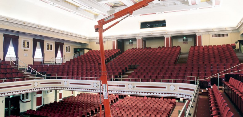 Wilson Access Track Mount Gives A  Brilliant Performance At Concert Venue