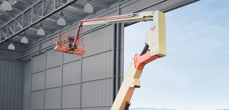 JLG Introduce A New 80ft Hybrid Articulated Boom