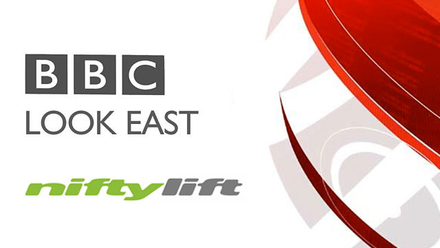 Niftylift Feature on BBC Look East