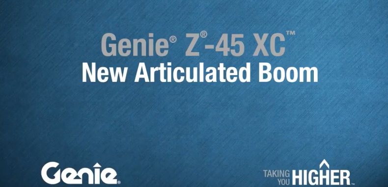 New Product Walk-Around: Z®-45 XC™ Articulating Boom