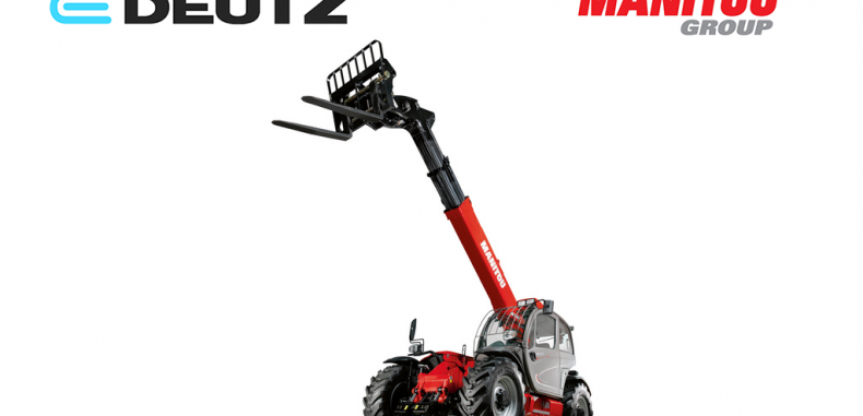Manitou Work with Deutz to Develop Electric Telehandler