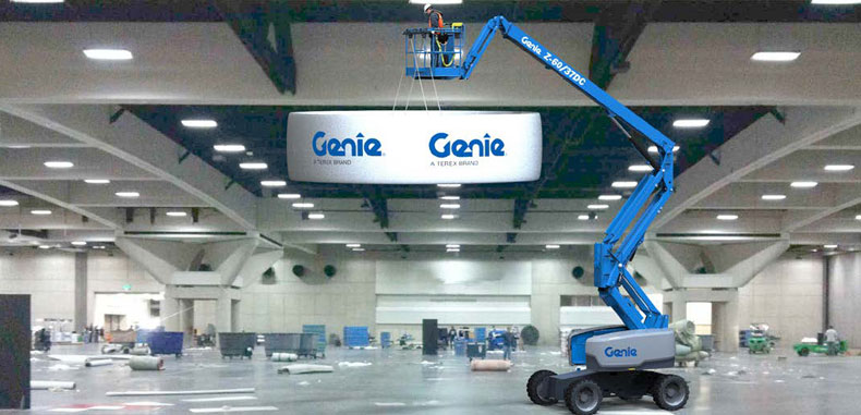 The New Genie® Lift Tools™ Expo Installer