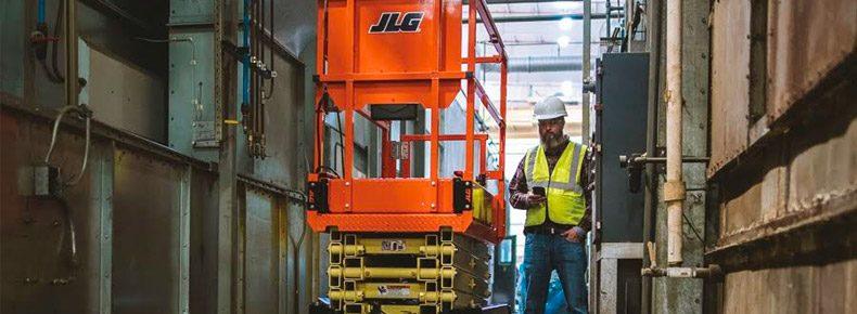 JLG Launches Mobile App to Drive Scissors, Debuts Two New Scissor Lift Models