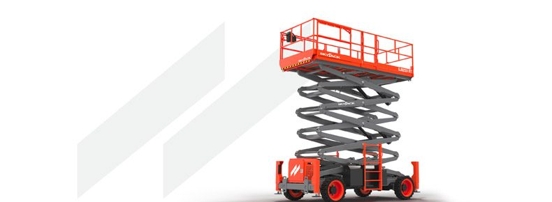 Skyjack Unveils New Range of Full Size Rough Terrain Scissor Lifts