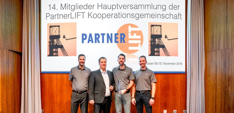 Skyjack Earns Supplier Award From PartnerLIFT