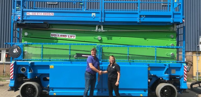AJ Access Platforms in £2.2m Holland Lift deal