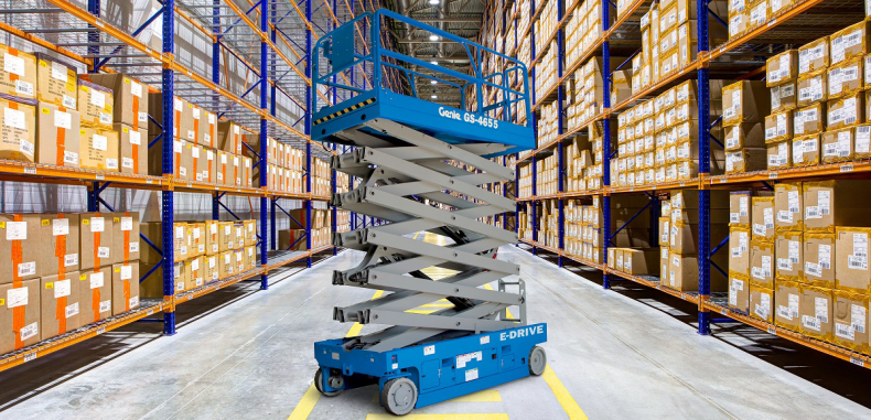 Genie GS-4655 High-reach Slab Scissor Lift to Launch at bauma