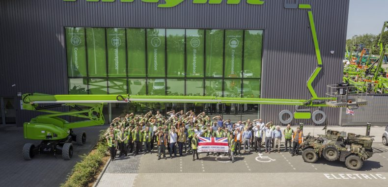 Niftylift Show Support for Armed Forces Day
