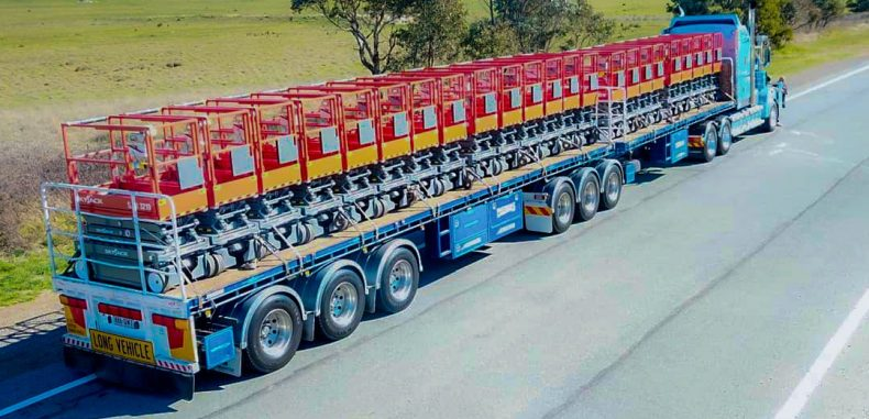 Skyjack's Delivery in Australia