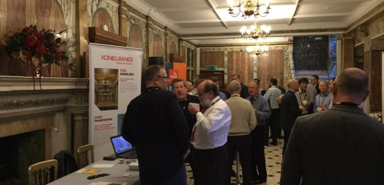 Crane Safety Conference at the Institution of Mechanical Engineers in London, UK