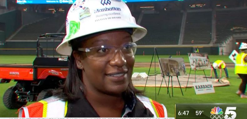 Challenging and Rewarding': Woman Leads Construction Team at Globe Life Field