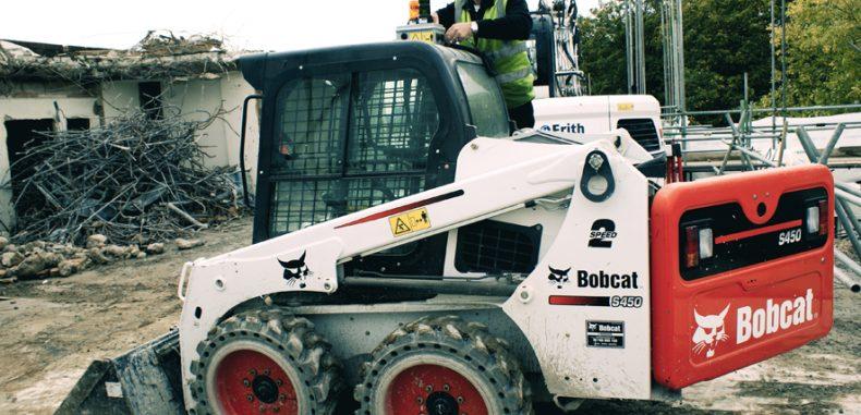 The UK's First Remote-control Bobcat Skidsteer