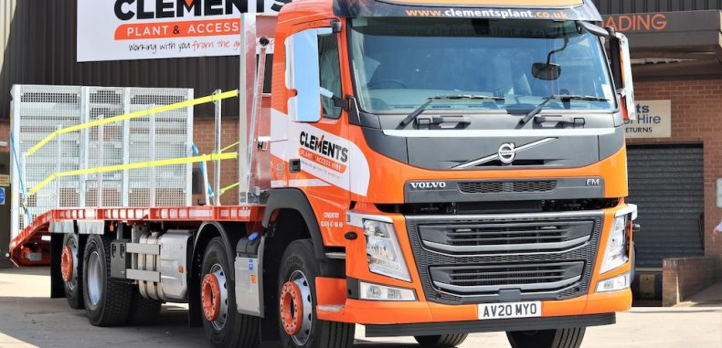 New Volvo FM 420 8×2 Chassis – Clements Plant & Access Hire